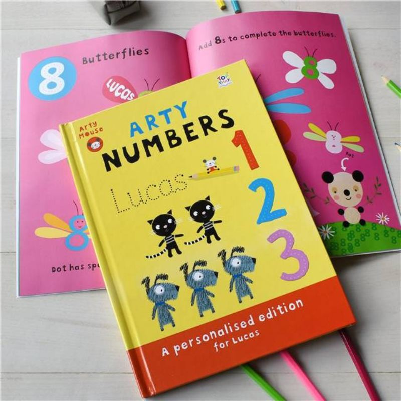 Arty Mouse Numbers - Hardback product image