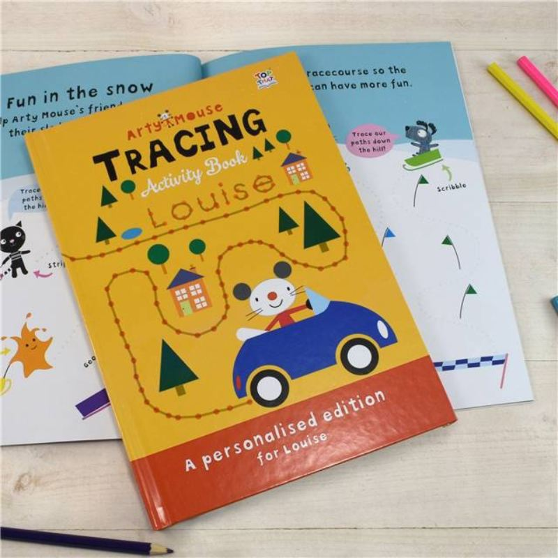 Arty Mouse Tracing - Hardback product image