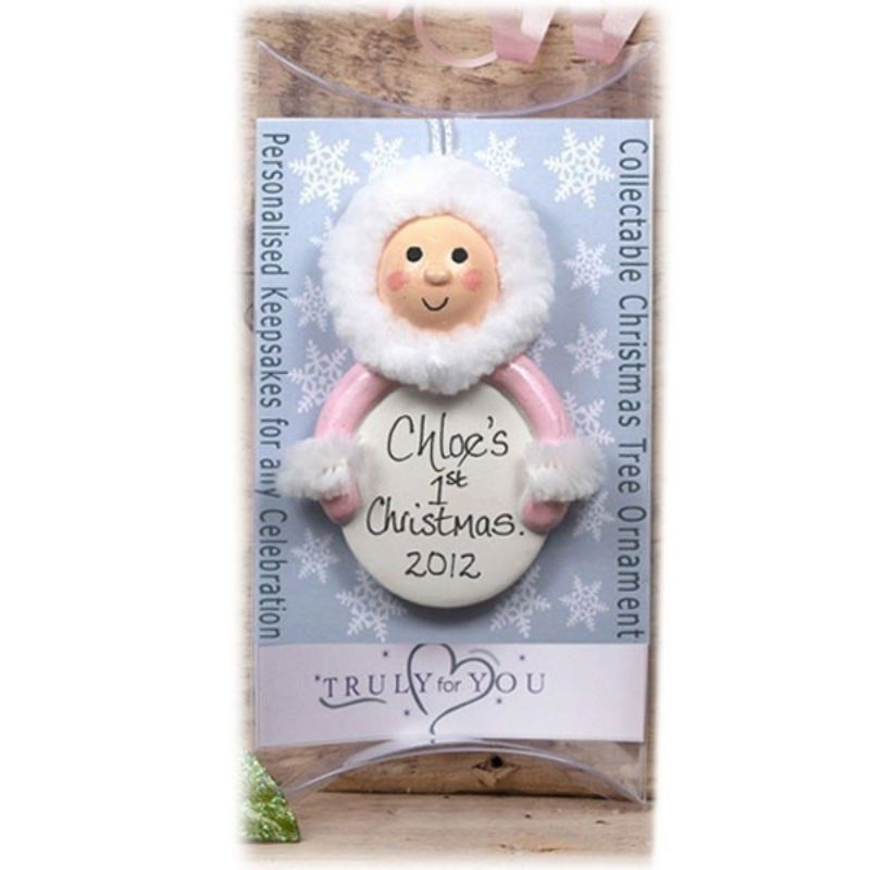Baby Girl's first Christmas Decoration product image
