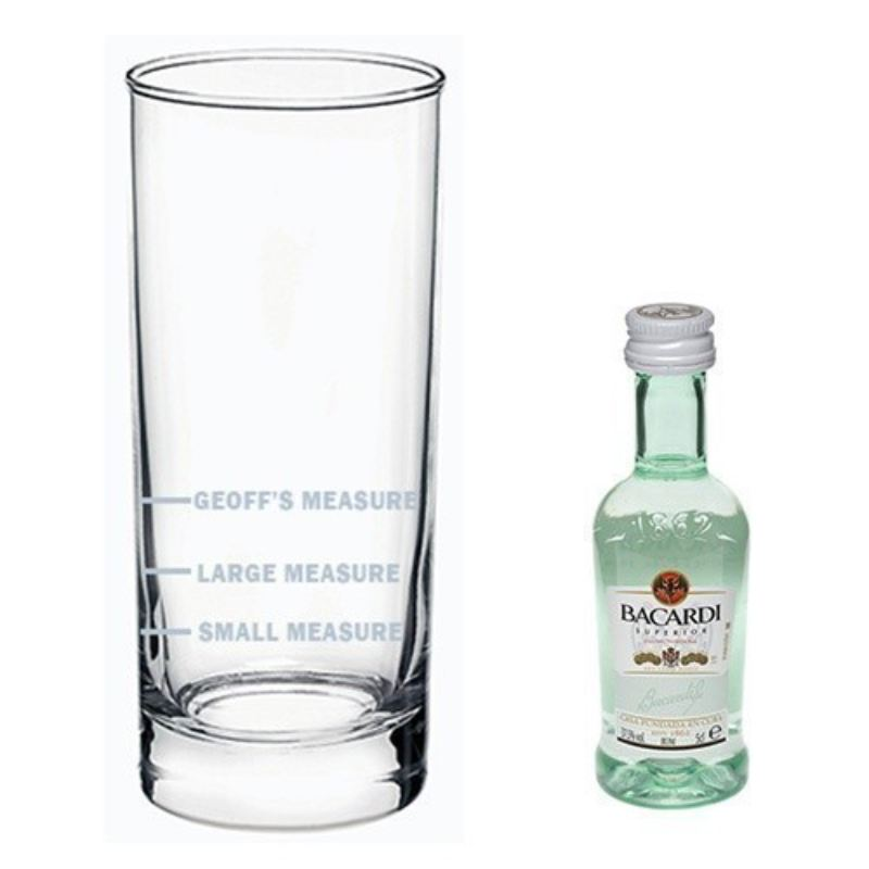 Bacardi Measure Gift Set product image