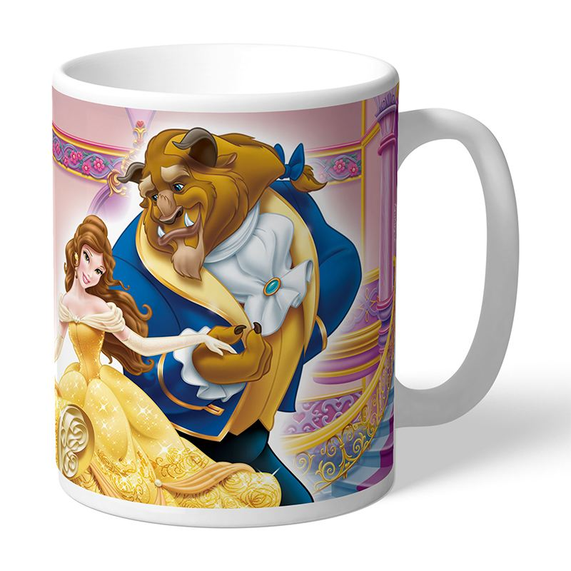 Personalised Beauty and The Beast Dance Mug product image