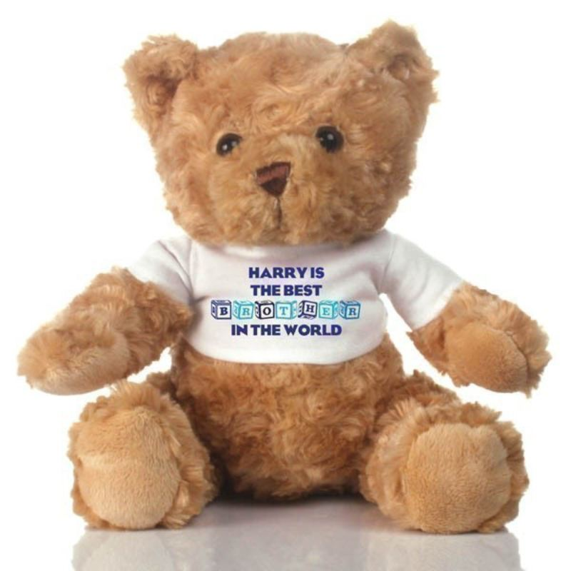 Best Brother Personalised Teddy Bear product image