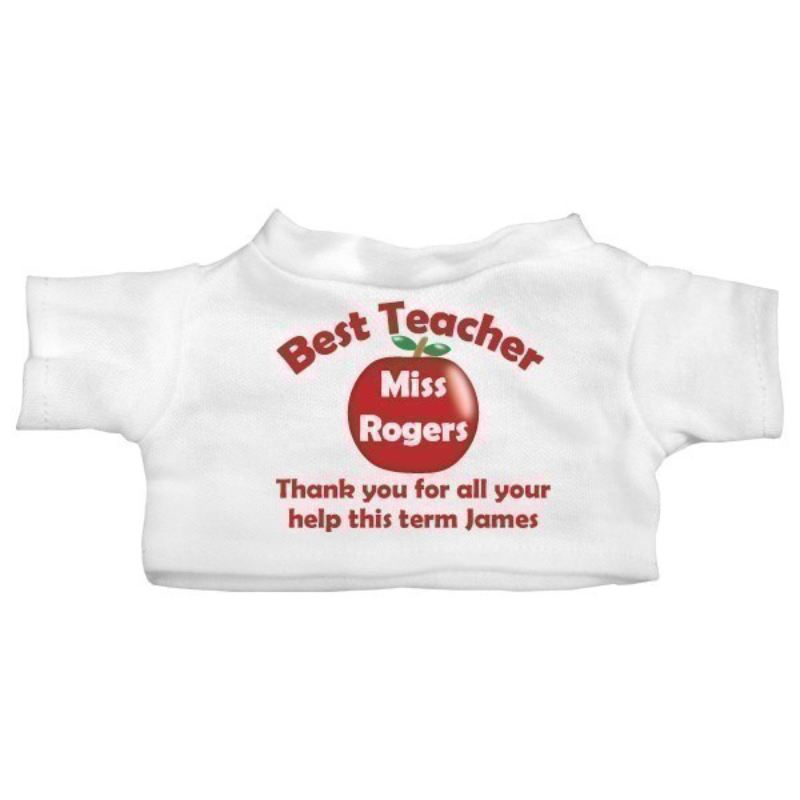 Best Teacher Personalised Teddy Bear product image