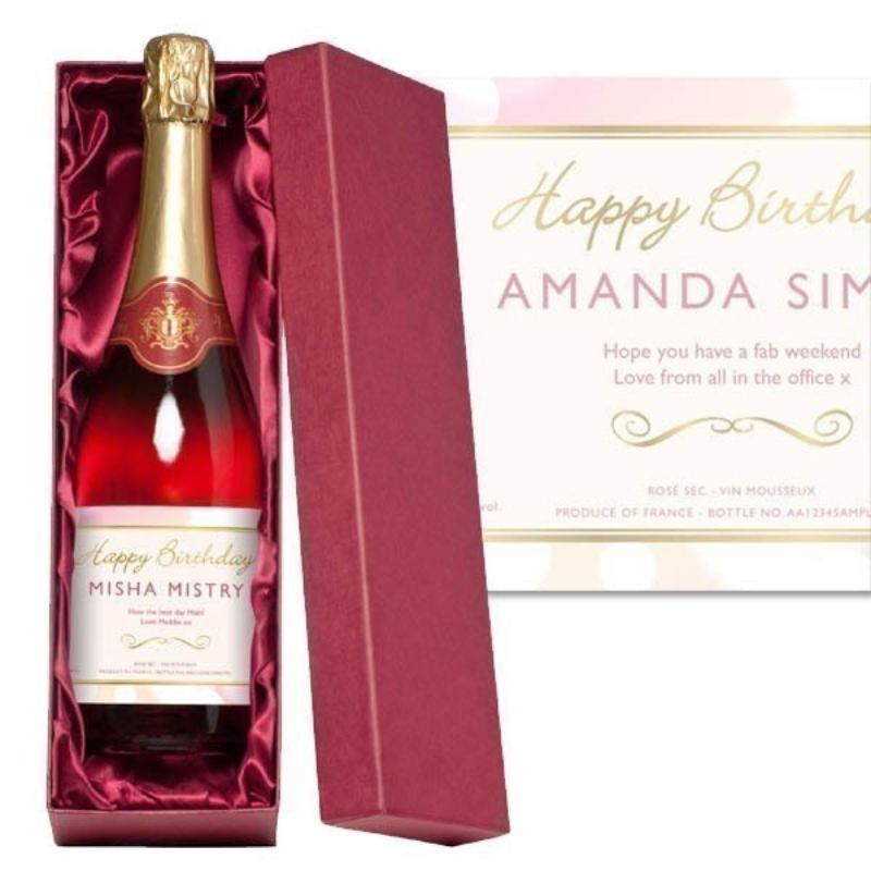 Birthday Bottle of Sparkling Rose product image