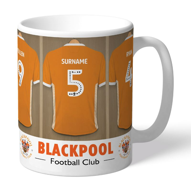 Personalised Blackpool FC Dressing Room Mug product image