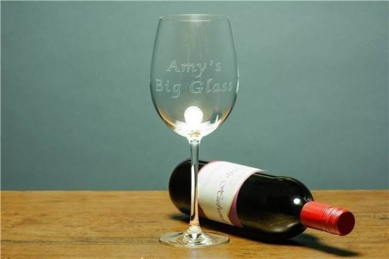 Bottle of Wine Glass product image