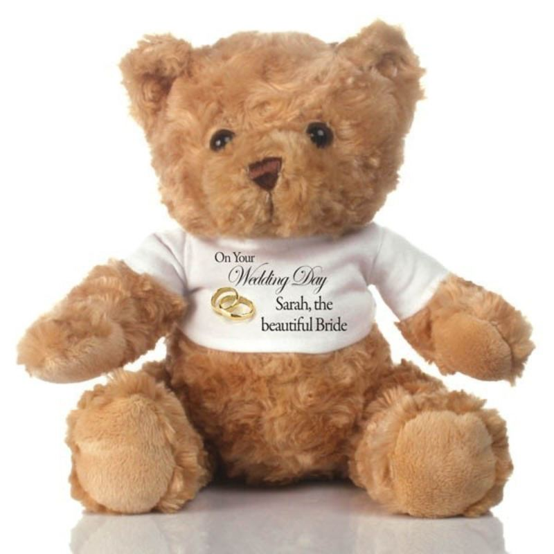 Bride Personalised Teddy Bear product image