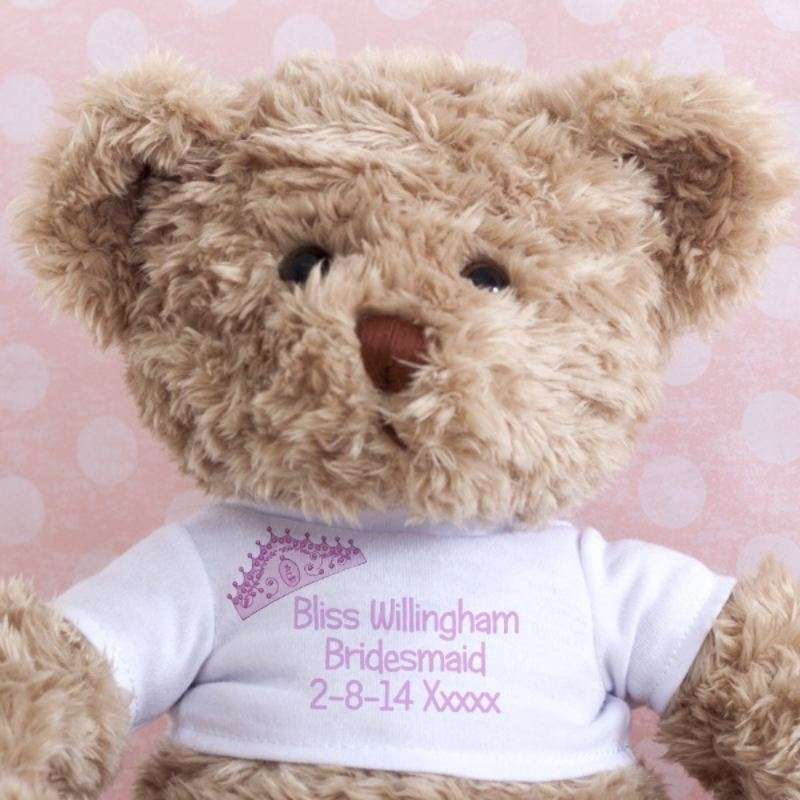 Bridesmaid Message Bear product image