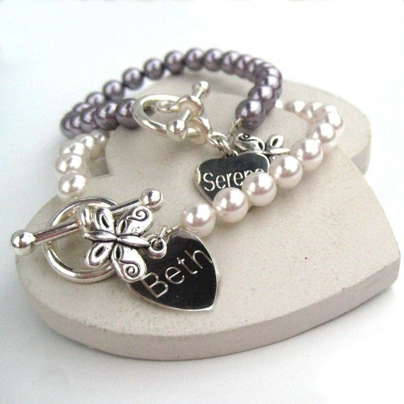 Butterfly Pearl Bracelet product image