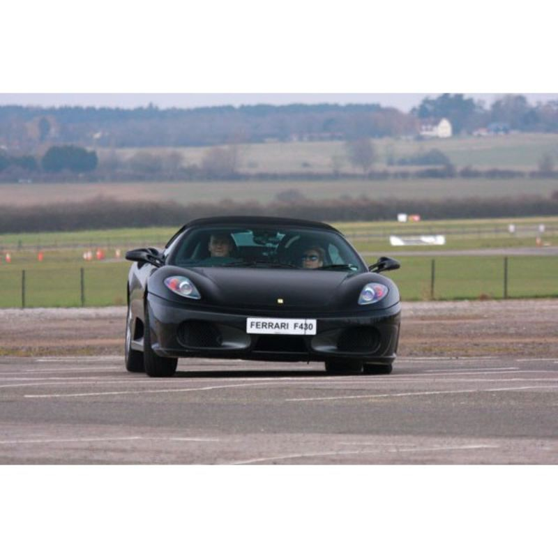 Ferrari Driving Thrill with Passenger Ride product image