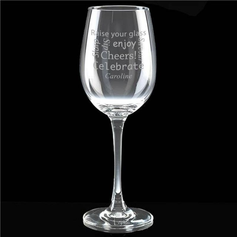 Celebratory Wine Glass product image