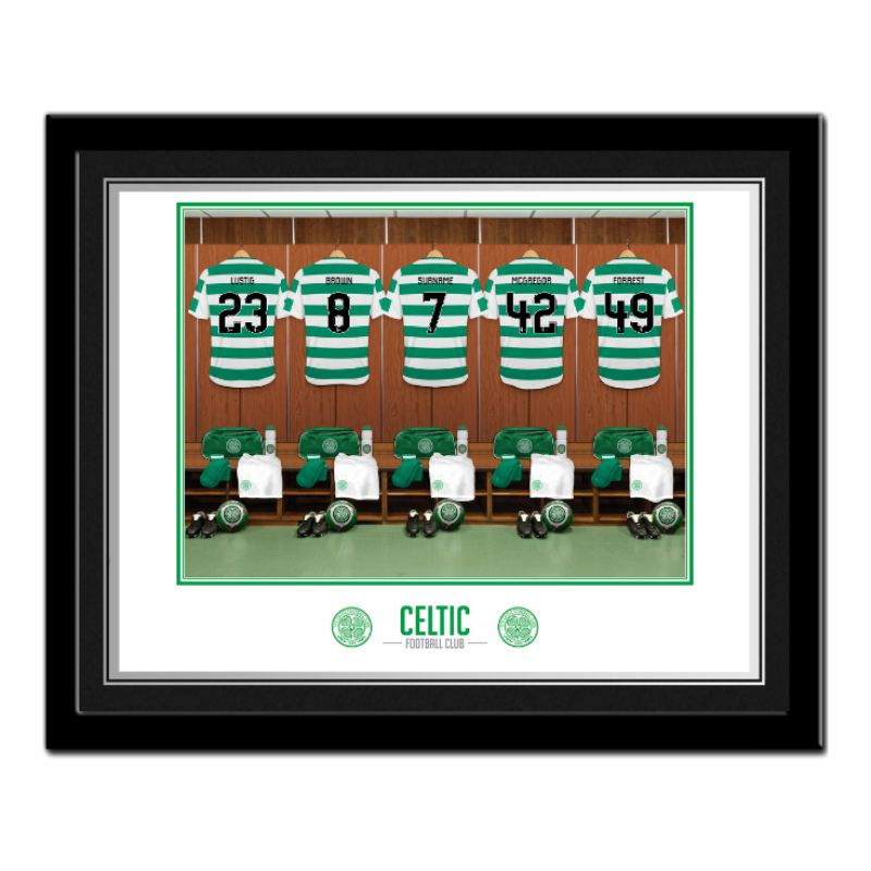 Personalised Celtic Park Dressing Room Photo product image