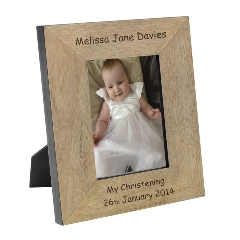 Child's Name Wood Frame 6 x 4 product image
