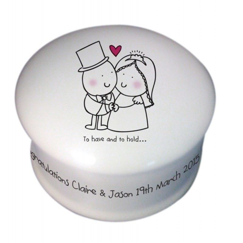Chilli & Bubble's To Have & To Hold Trinket Box product image