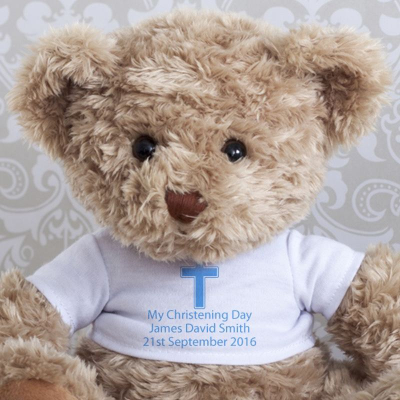 Christening Teddy Bear product image