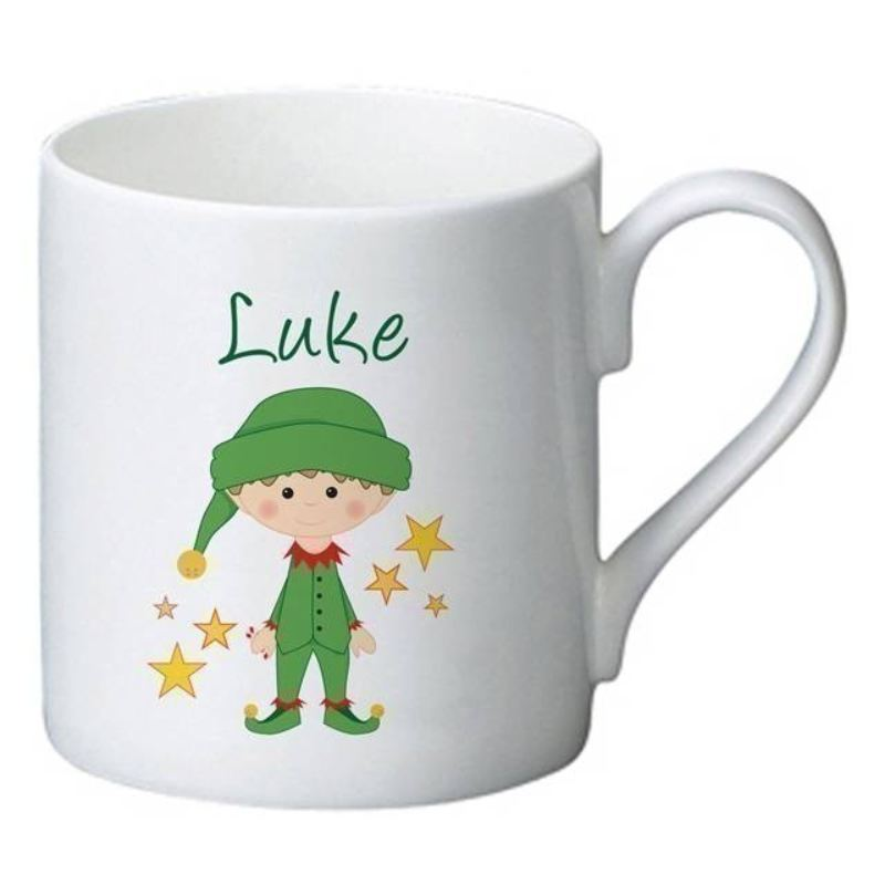 Christmas Elf Bone China Mug product image