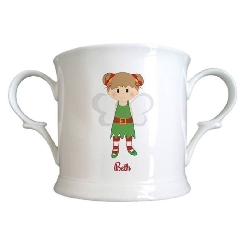 Christmas Pixie Bone China Loving Cup product image