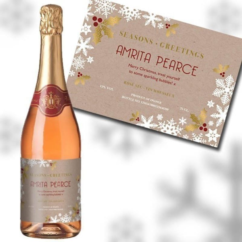 Christmas Sparkling Rose Wine product image