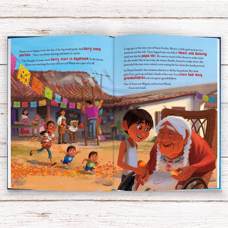 Coco - Personalised Disney Story Book product image
