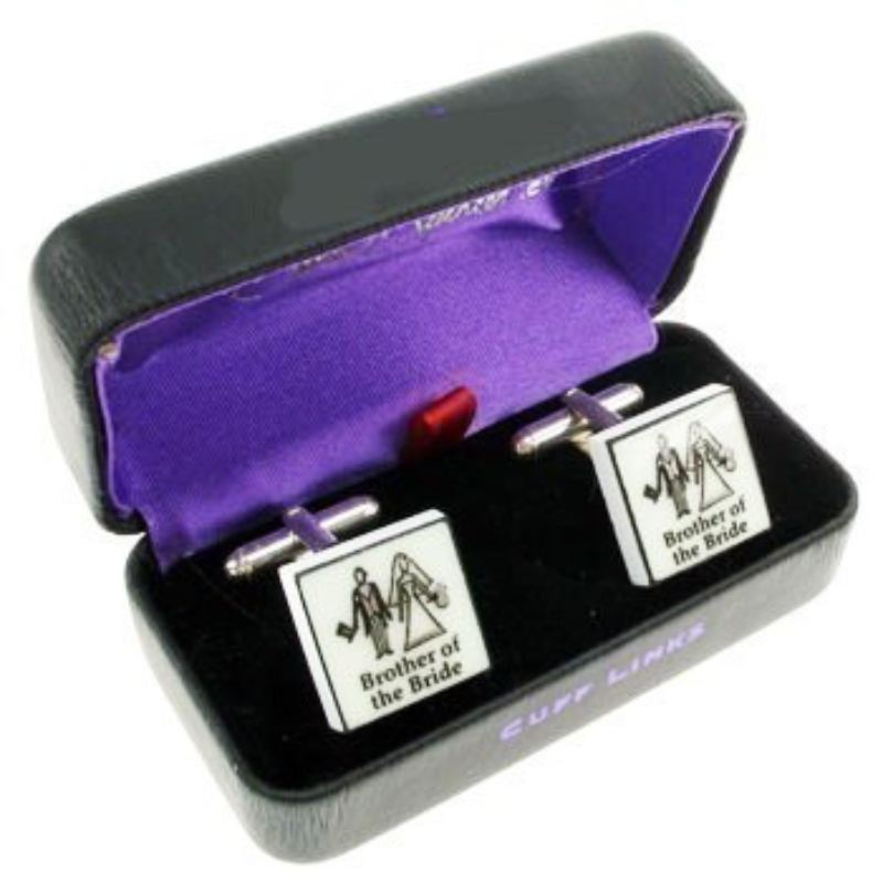 Contemporary Brother of the Bride Cufflinks product image