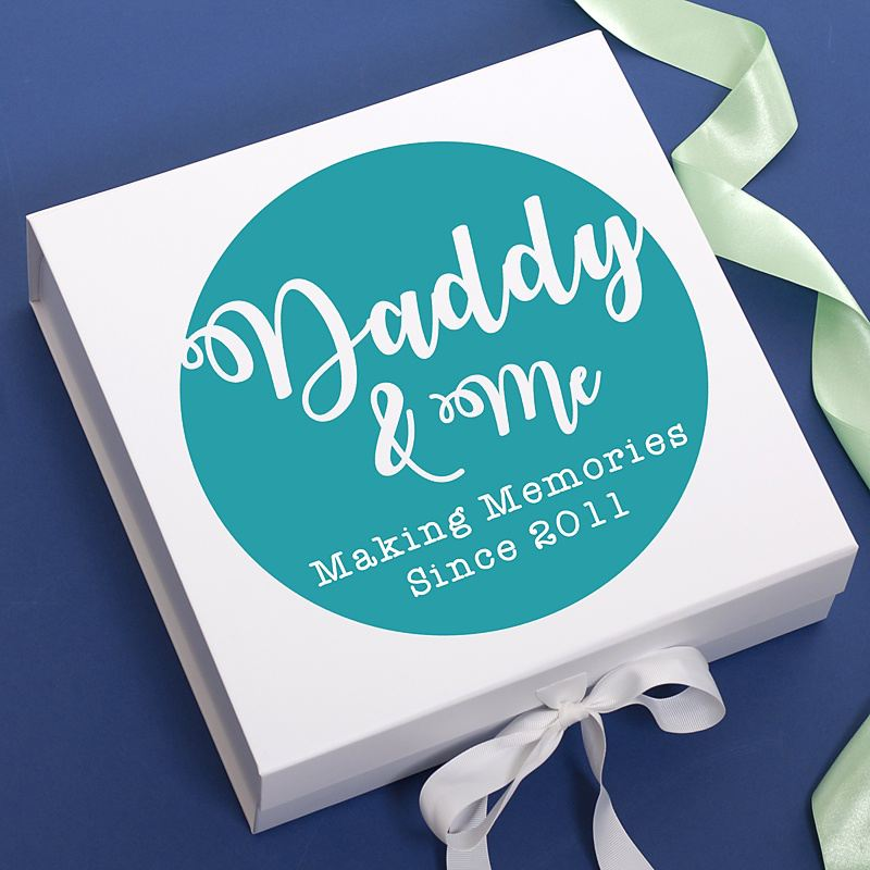Daddy and Me Personalised Keepsake Box product image