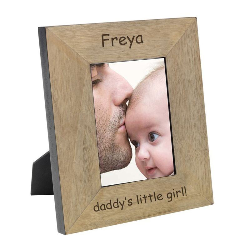 Daddy's Little Girl Wood Frame 6 x 4 product image