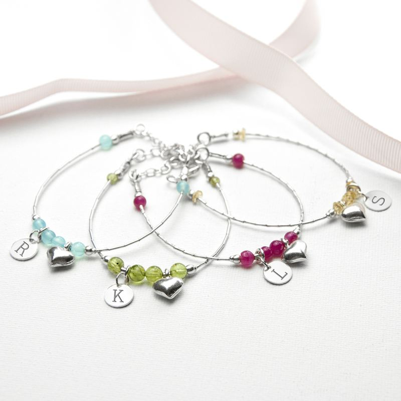 Daughter Personalised Bracelet - Range of Colours product image