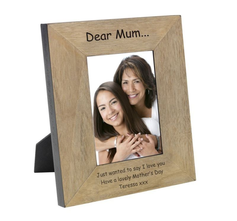 Dear Mum... Wood Frame 6 x 4 product image