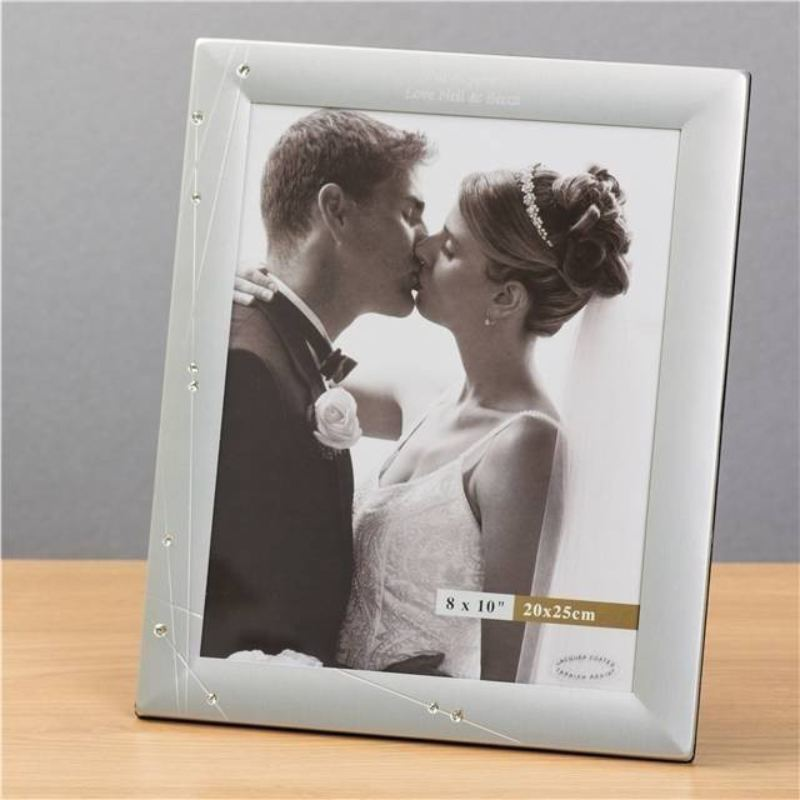 Diamante Swirl 8x10 Photo Frame product image