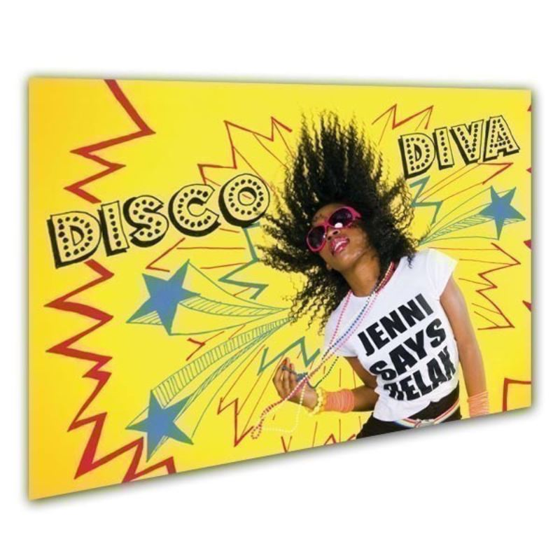 Disco Diva Personalised Framed Poster product image