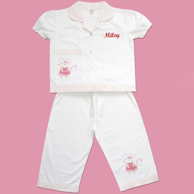 Embroidered Minnie Powell Craft Pyjamas product image