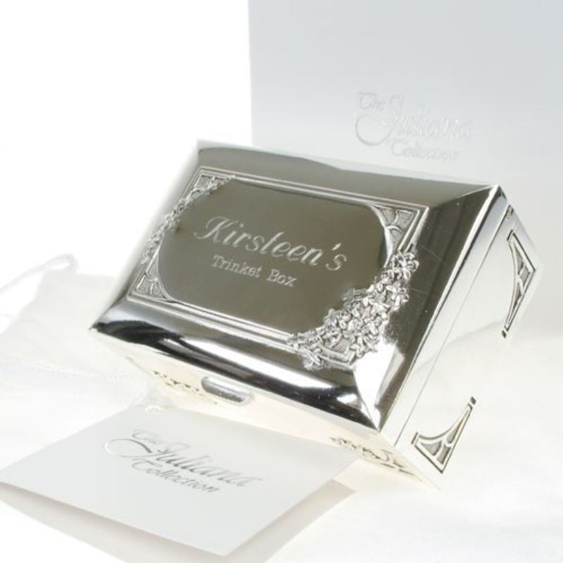 Engraved Trinket Box product image