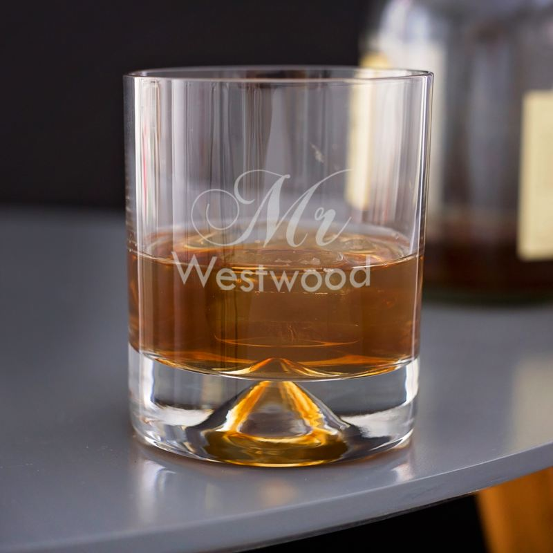Engraved Whisky Glass for Him product image