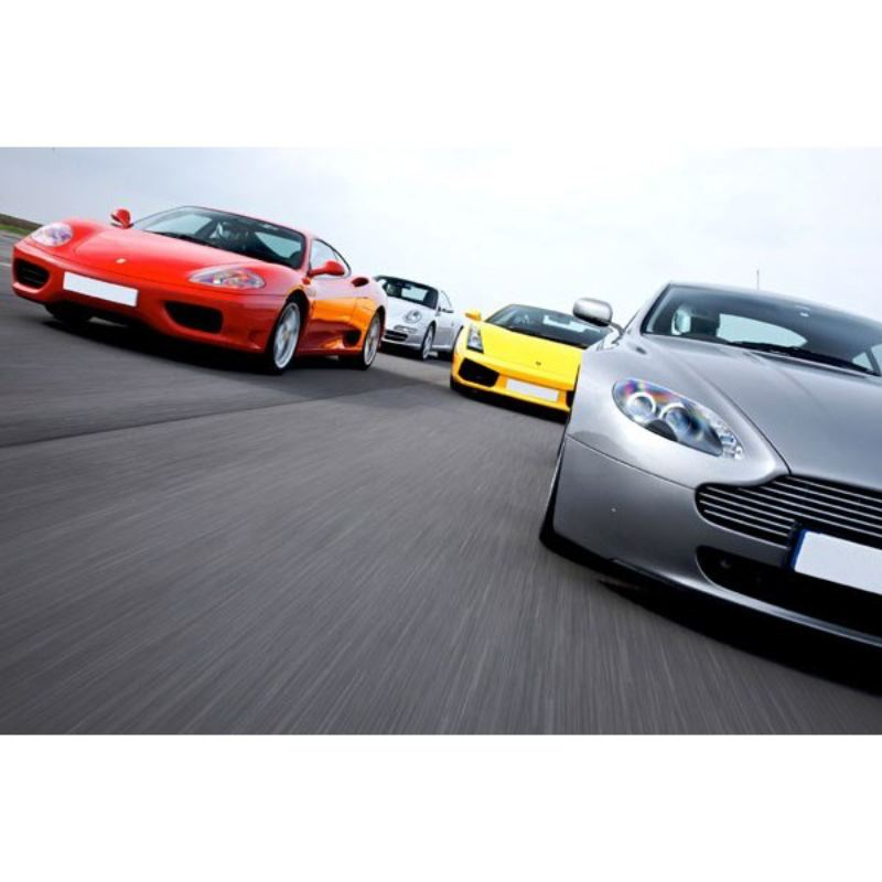 Supercar Driving Thrill with Passenger Ride product image