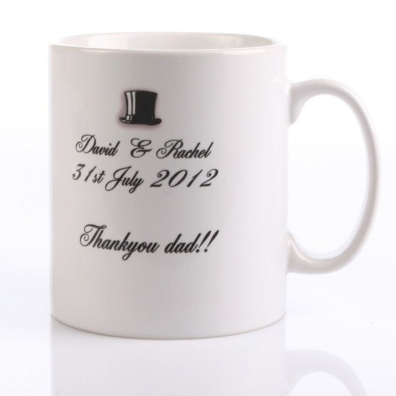 Father of the Groom Personalised Mug product image