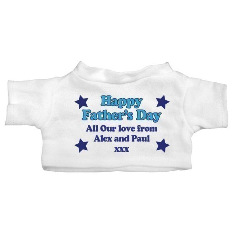 Father's Day Personalised Teddy Bear product image