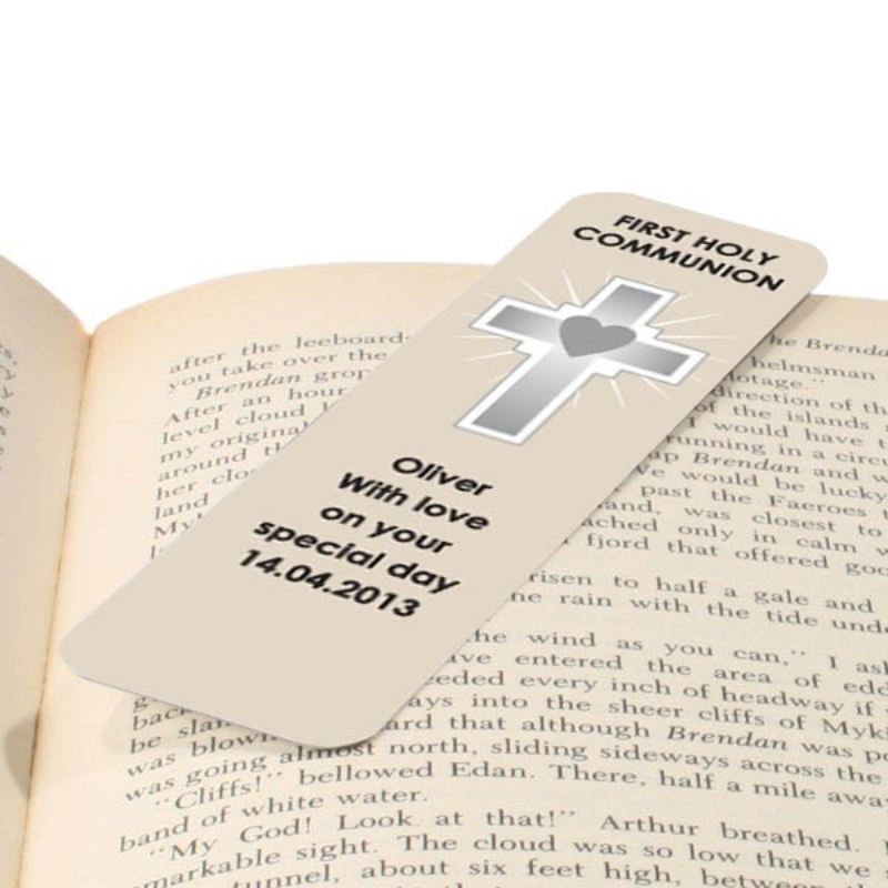 First Holy Communion Personalised Bookmark product image