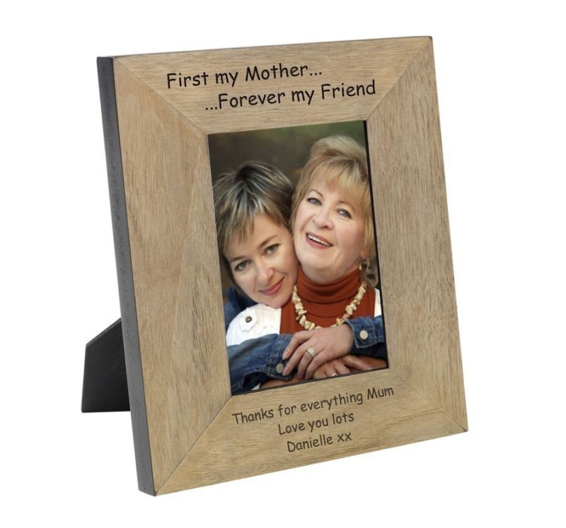 First my Mother... Forever my Friend Wood Frame 6 x 4 product image