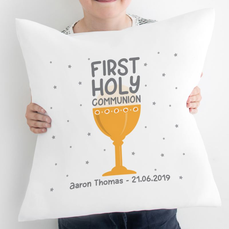 Personalised First Holy Communion Cushion product image