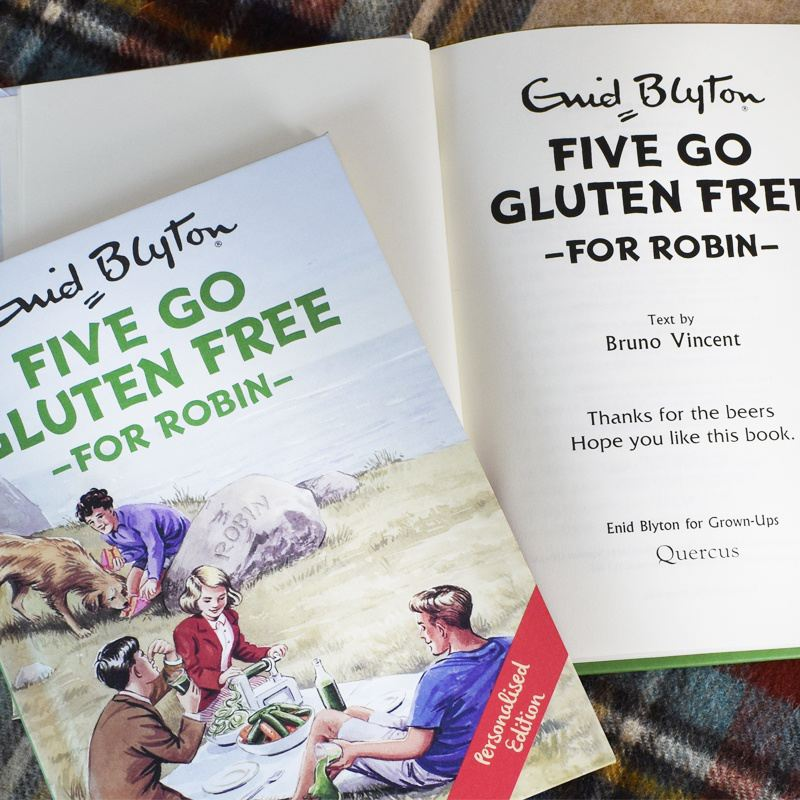 Five go Gluten Free Personalised Book product image