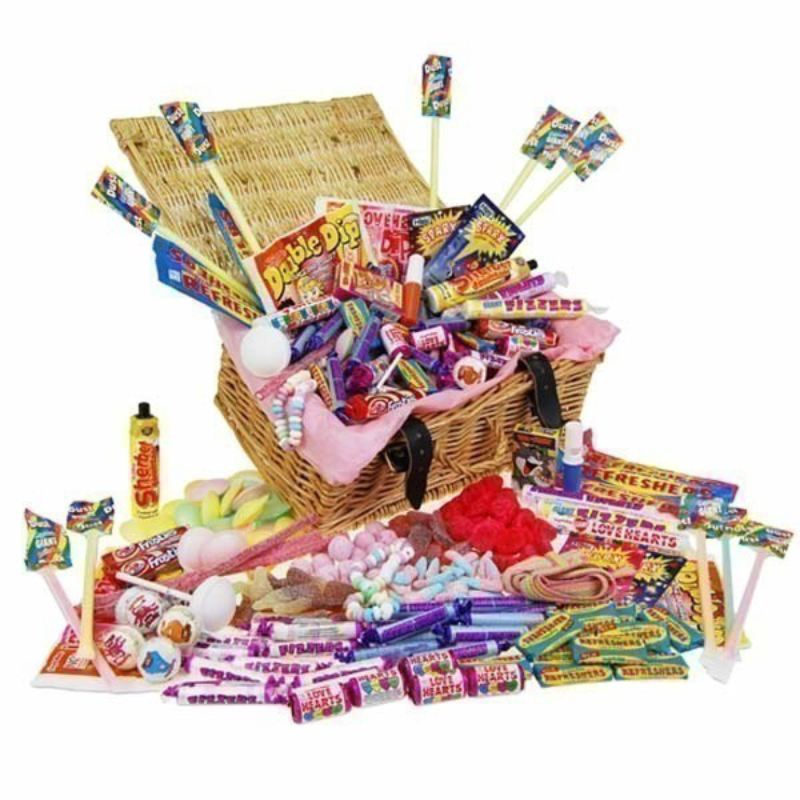 Fizzy Favourites Retro Sweet Hamper product image