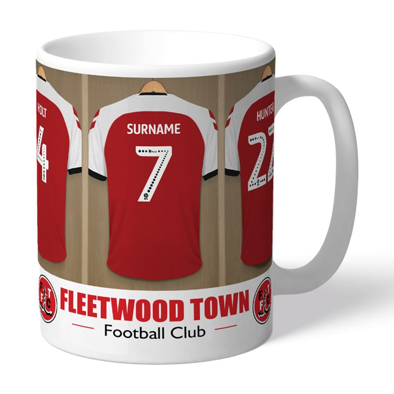 Personalised Fleetwood Town FC Dressing Room Mug product image