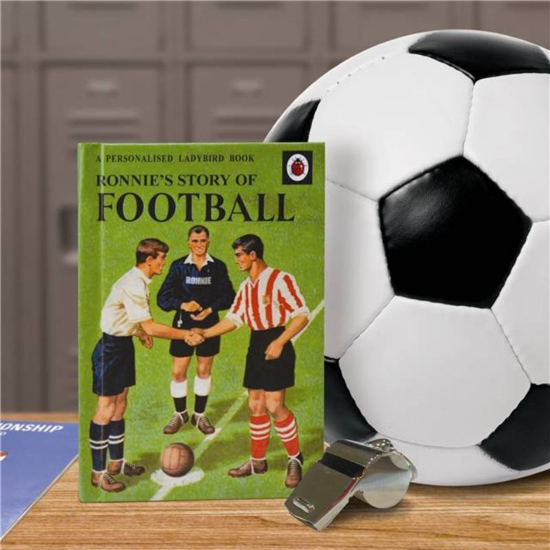 Football - Personalised Ladybird Book product image