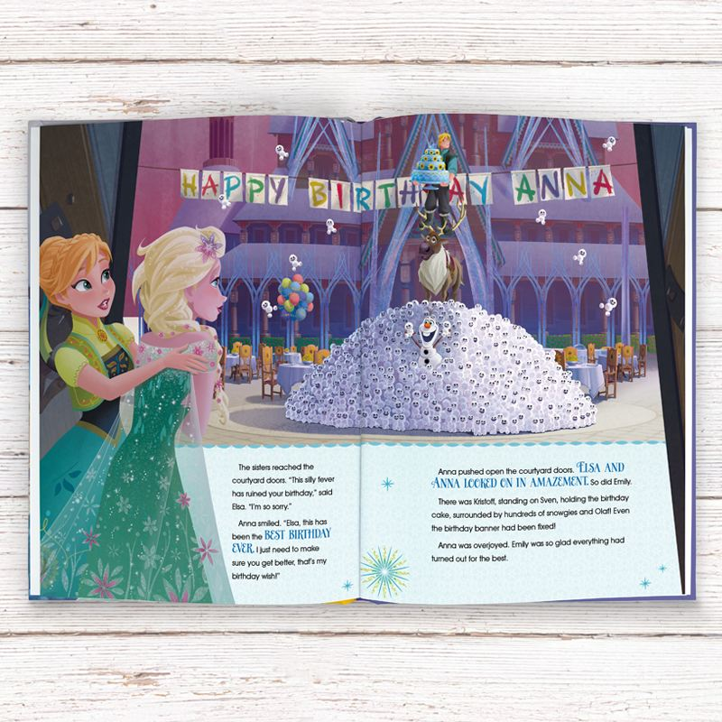 Frozen Fever Personalised Disney Story Book product image