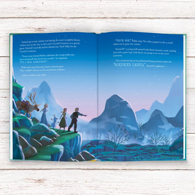 Frozen Northern Lights - Personalised Story Disney Book product image