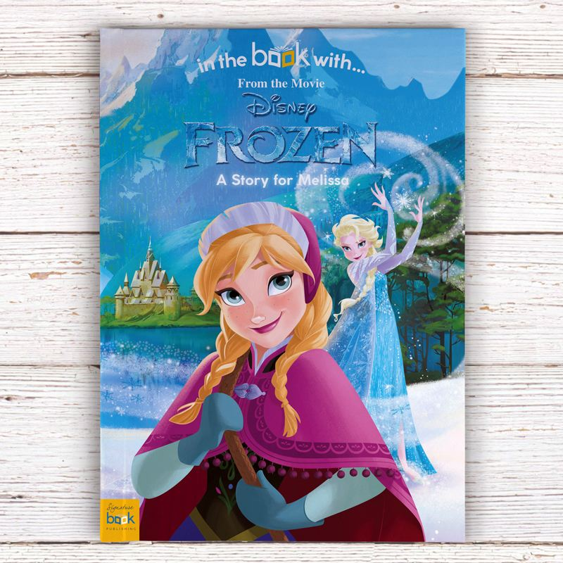 Frozen Personalised Story Book product image