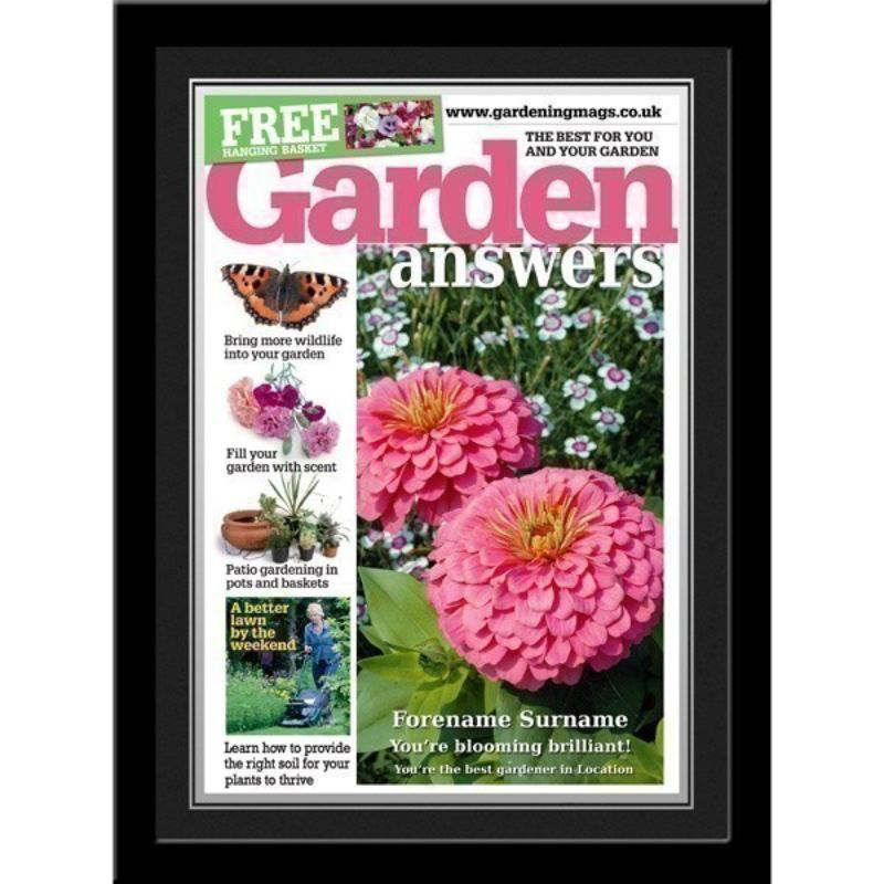 garden answers personalised magazine cover product image - Garden Answers