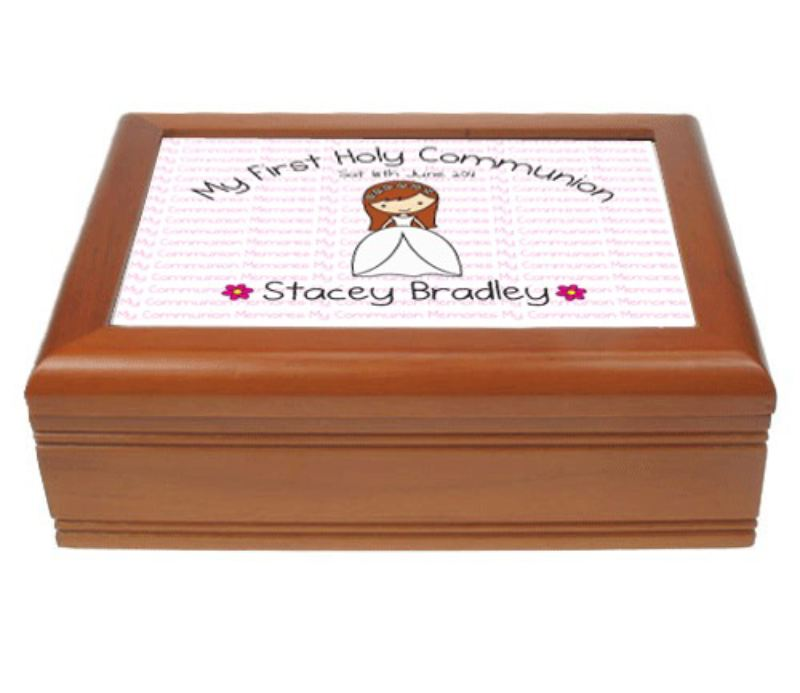 Girl Musical Communion Jewellery Box product image
