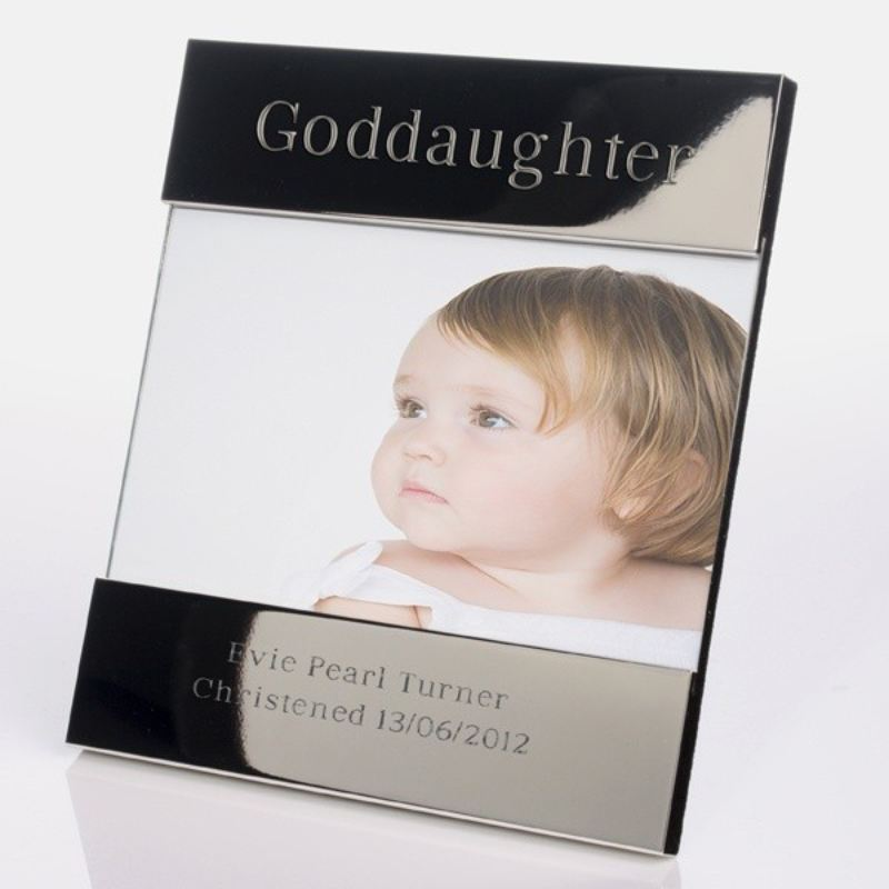 Goddaughter Shiny Silver Photo Frame product image
