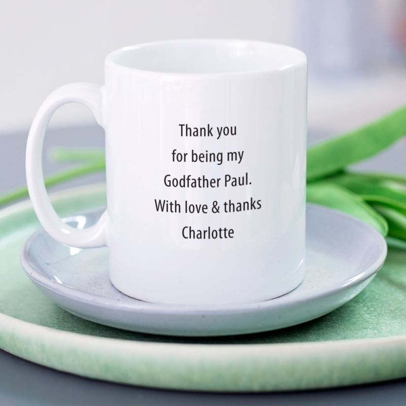 Wonderful Godfather Personalised Mug product image